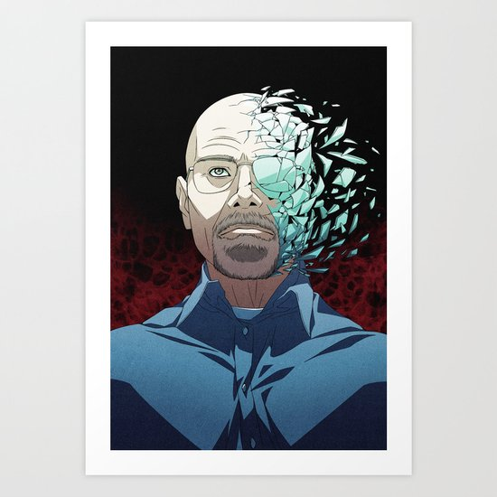 Ozymandias (Walter White - Breaking Bad) Art Print