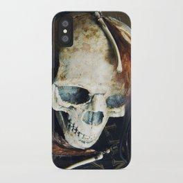 Tribal Bones Earrings iPhone Case