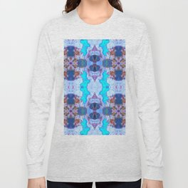 222 - Colour abstract design Long Sleeve T-shirt