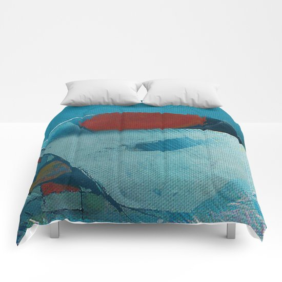 容器壊れた (broken pot) Comforters