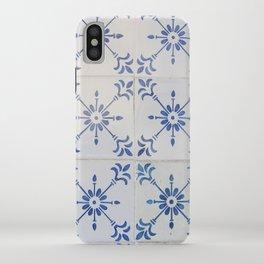 Portuguese tile 7 iPhone Case