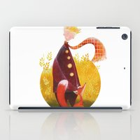le petit prince iPad Cases featuring Le Petit Prince by Federica Fabbian