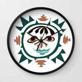 Earth -4 elments Wall Clock