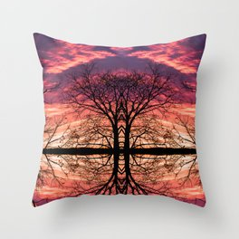 After The Last Leave Falls Throw Pillow