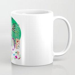 K-Pop Green Coffee Mug