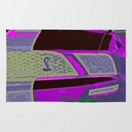 Purple Cobra Rug