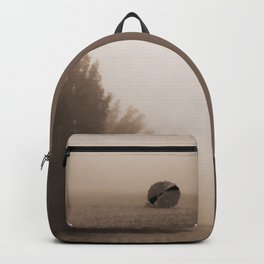 Alone at the beach Backpack