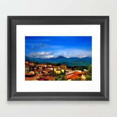 Barga, Italy Framed Art Print