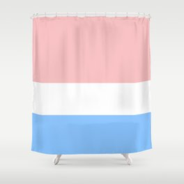 Red White & Blue Shower Curtain