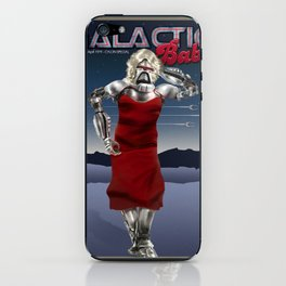 Galactic Cover Girl iPhone Skin