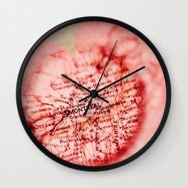 Montreal, je t'aime Wall Clock