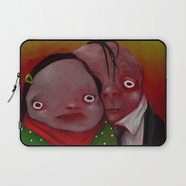 The strange couple Laptop Sleeve