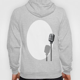 Musical Event Microphone Poster Hoody