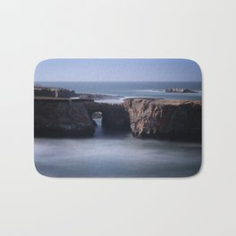 Keyhole Rock Arches Point Arena California Bath Mat