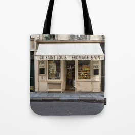 Cheese and Wine Tote Bag
