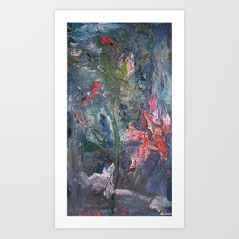 Flowers of the Field No.2 Art Print