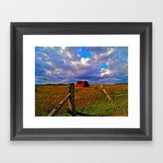 Rockwood Barnscape Framed Art Print