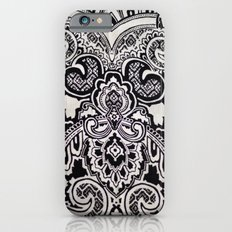 black and white print texture Slim Case iPhone 6s