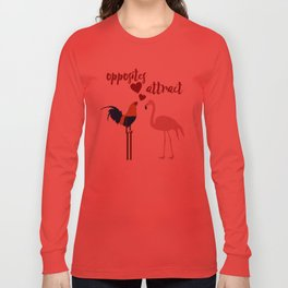 Opposites Attract Long Sleeve T-shirt