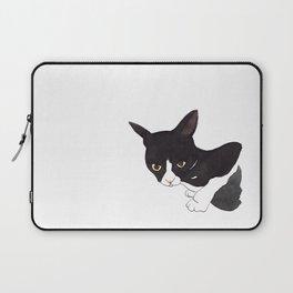 Tuxedo cat Laptop Sleeve