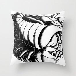 Feminine Figure Throw Pillow