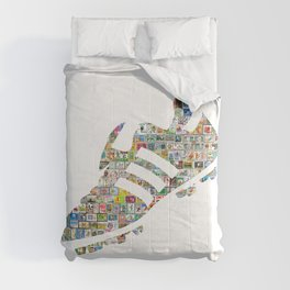Philately Copa Mundial Soccer Cleats Comforters
