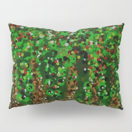 Abstract Forest Pillow Sham