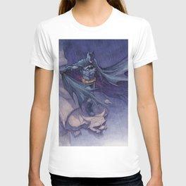 DarkKnight watercolor T-shirt