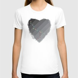Pet Loves Travels in Watercolor T-shirt