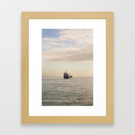 It doesn't matter what they took away from you, but what they left you. Framed Art Print
