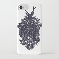 clockwork iPhone & iPod Cases featuring Clockwork by Jamie Bryan