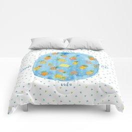 Pineapple Pura Vida Comforters