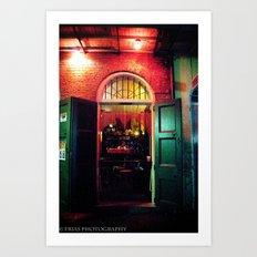Absinth Bar Art Print
