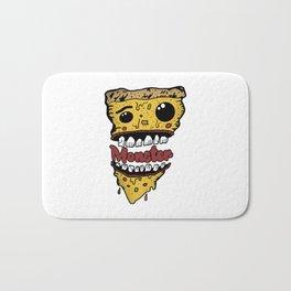 Pizza Monster Bath Mat