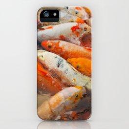 Koi Carp Food Frenzy 2 iPhone Case