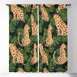 Cheetah Pattern Blackout Curtain