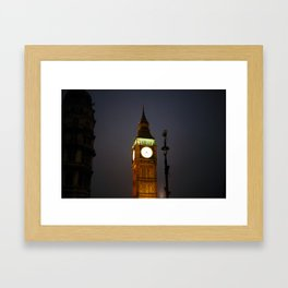 Big Ben Clock Framed Art Print