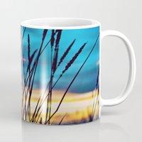 western Mugs featuring Western Sky by Melanie Ann