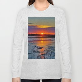 Reflective Evenings Long Sleeve T-shirt