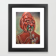 Prince Battle Cat Framed Art Print