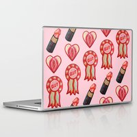 feminist Laptop & iPad Skins featuring Feminist by King Sophie's World