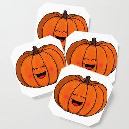 The happy pumpkin Coaster