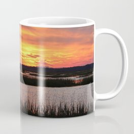 Sky Over The Marsh Coffee Mug