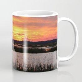 Sky Over The Marsh Coffee Mug