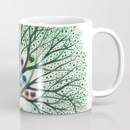 Teton Owls in Tree Coffee Mug