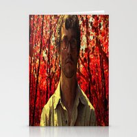 will graham Stationery Cards featuring Will Graham by KP Designs