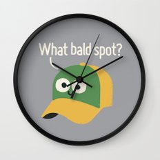 Got You Covered Wall Clock
