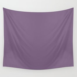 Rustic Wisteria ~ Dusky Violet Wall Tapestry