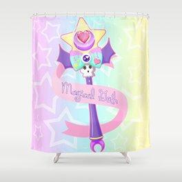 Magical Goth Shower Curtain