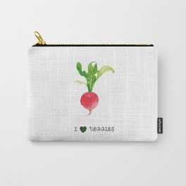 Radish - I love veggies Carry-All Pouch